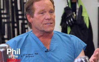 Dr. J. Patrick Johnson on the Dr. Phil Show.